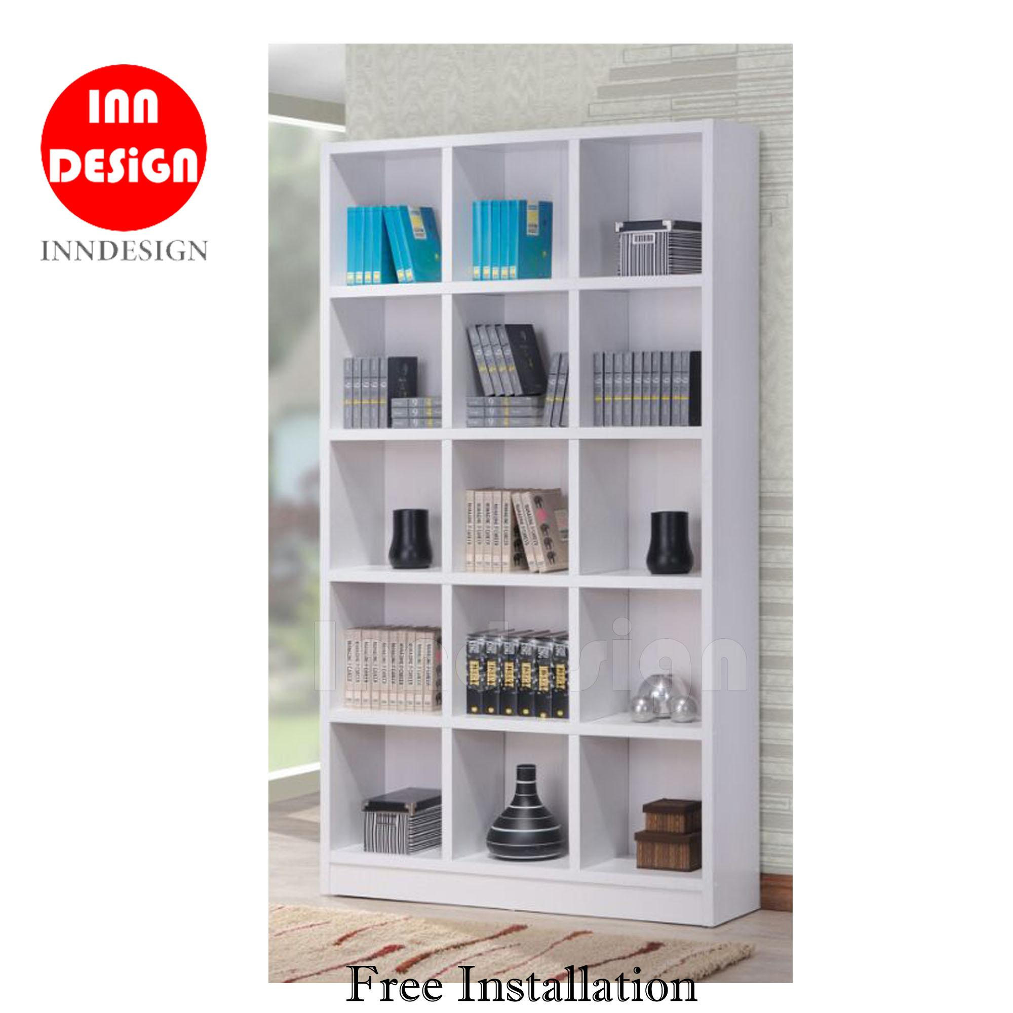 Smith 15 BookShelf / Cabinet / Filling Cabinet / Office Stand / Divider (Free Installation)