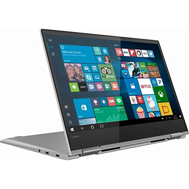 Flagship Lenovo Yoga 730 2-in-1 13.3  FHD IPS Touchscreen Business Laptop/Tabelt, Intel Quad-Core i5-8250U 8GB DDR4 256GB PCIe SSD Thunderbolt Fingerprint Reader Windows Ink Backlit Keyboard Win 10