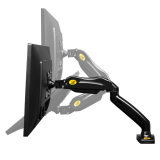 Top Rated F80 Desktop Gas Strut Monitor Arm Mount For Monitor Up To 27