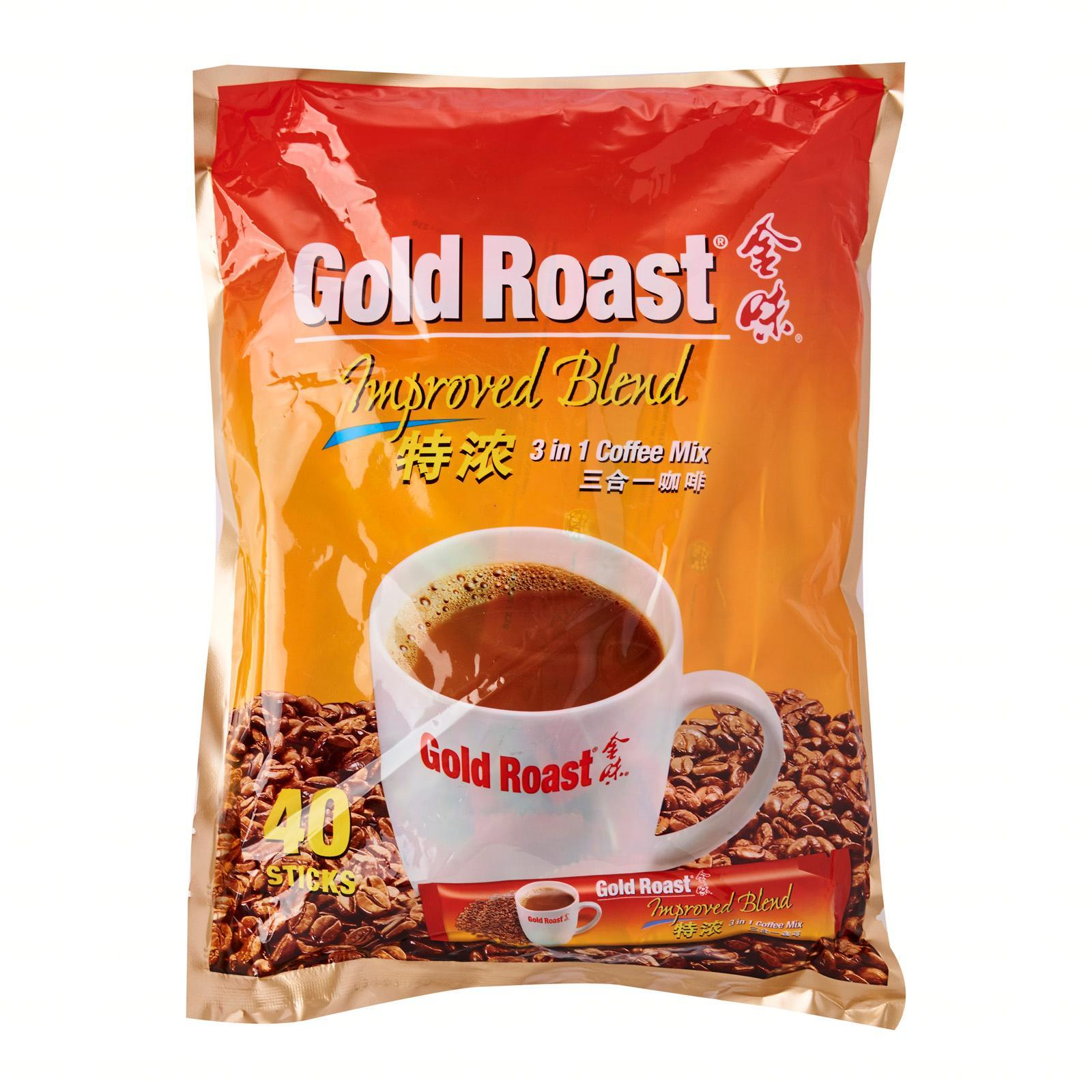 Gold Roast Improved Blend 3In1 Instant Coffeemix