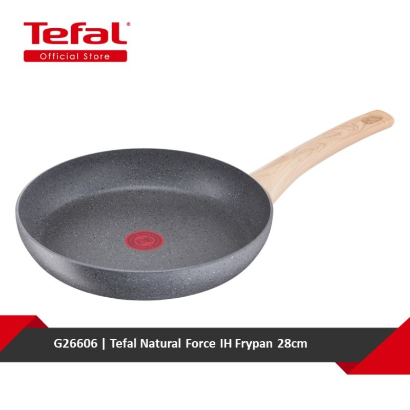 Tefal Natural Force IH Frypan 28cm G26606 Singapore