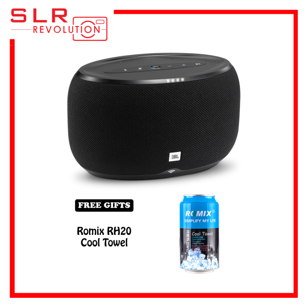 JBL Link 300 Voice-Activated Bluetooth Speaker [Free Romix RH20 Cool Towel] Singapore