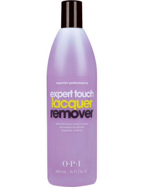 Buy OPI Expert Touch Gel Soak Off Nail Polish Remover 450ml with acetone content removes nail polish and soak off gel polish Singapore