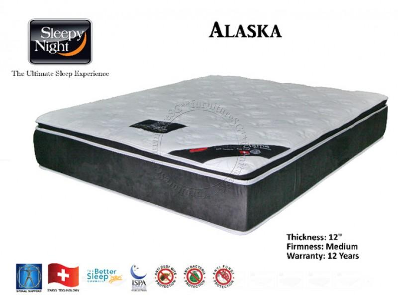 Sleepy Night Alaska Pocketed Spring Mattress