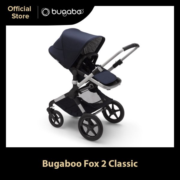 Bugaboo Fox 2 Limited Edition Dark Navy Comfort Complete Stroller Singapore