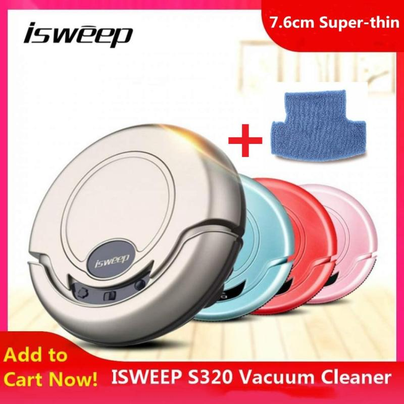 100% Original ISWEEP S320 Intelligent Robot Vacuum Cleaner Wireless Vacuum Cleaner Robot Anti Fall Sweeping Machine Wet Dry With Mopping For Home Singapore