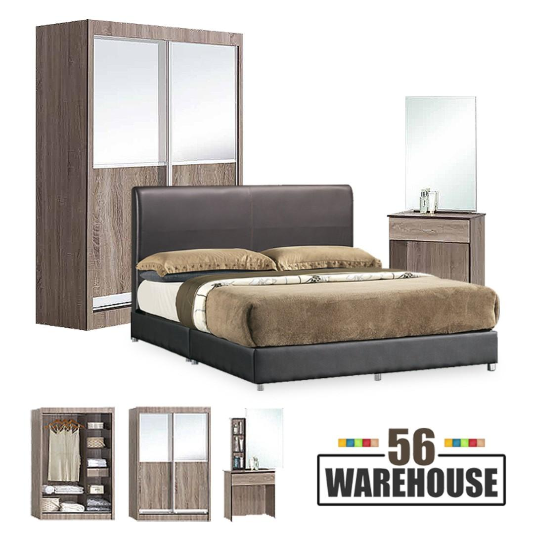 EL01 Bedroom Set w/o Mattress WH56
