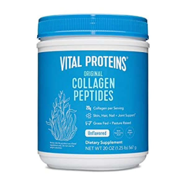 Buy Vital Proteins, Collagen Peptides, Unflavored, 1.25 lbs (567 g) Singapore