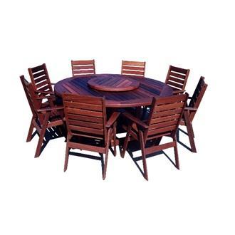 Sheldon Argyle180 Jarrah Solid Timber Outdoor Dining Table