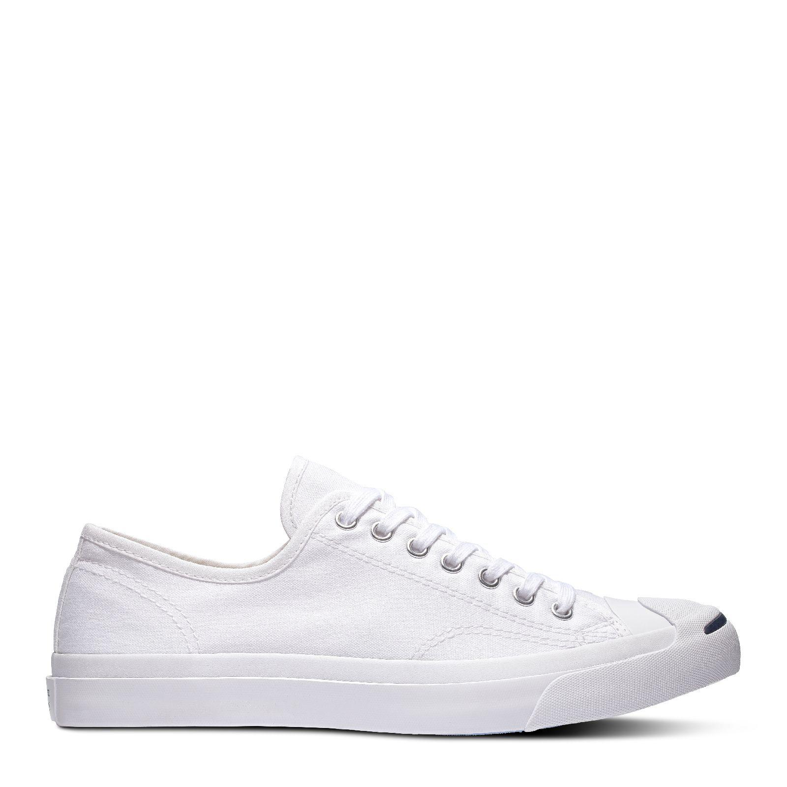 be64418f CONVERSE JACK PURCELL JACK OX - WHITE/WHITE - 1Q698