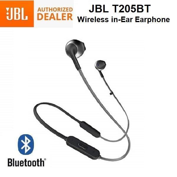 JBL Tune T205BT Bluetooth Wireless In-Ear Headphones Earpiece Headset with Mic Singapore