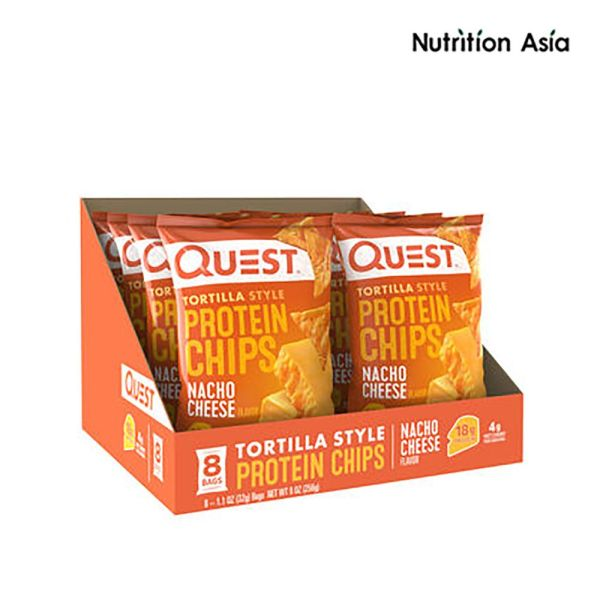 Buy Quest Nutrition Protein Tortilla Chips ( Nacho Cheese ) Singapore