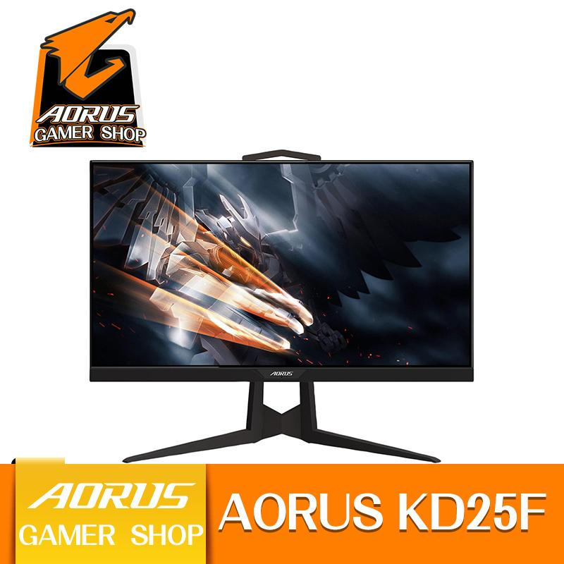 Gigabyte AORUS KD25F 25  (Actual size 24.5 ) 240Hz 1080P FreeSync Gaming Monitor, Exclusive Built-in ANC, 1920x1080 Display, 0.5ms Response Time, 1x Display Port 1.2, 2x HDMI 2.0, 2x USB 3.0
