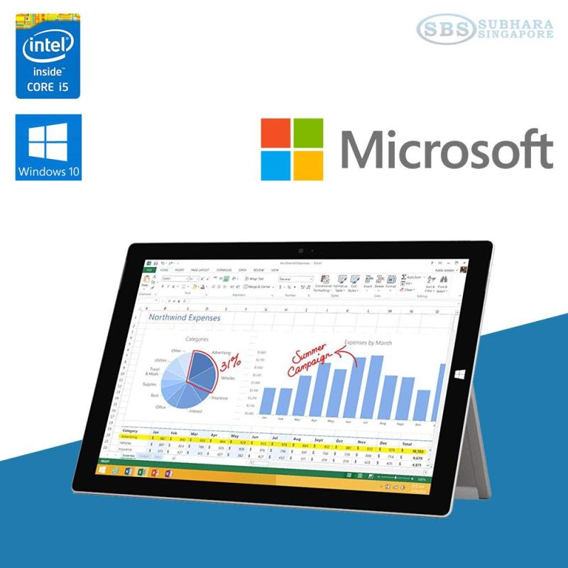 Microsoft Surface Pro 3 - i5 4th Gen / 8GB RAM / 256GB SSD (Refurbished)