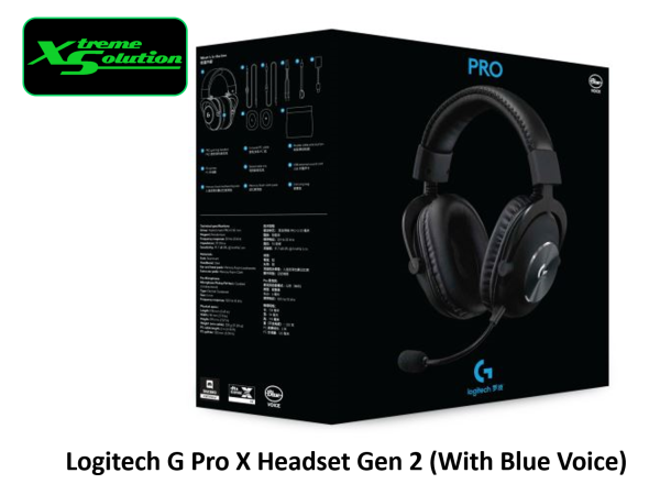 Logitech G Pro Gaming Headset (2nd Gen) / G Pro X Gaming Headset With Blue Voice (2nd Gen)