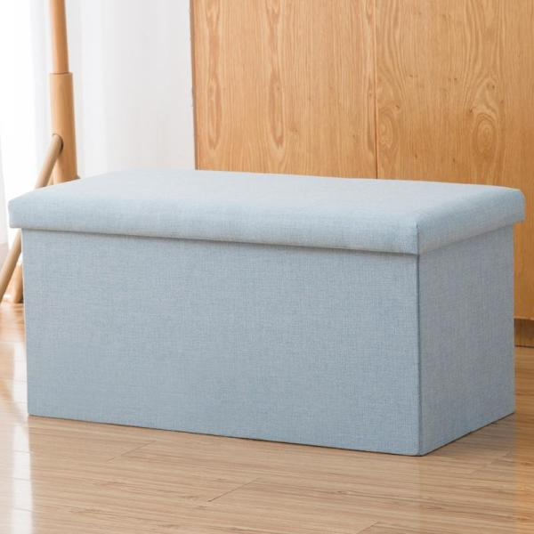 Storage Chair Can Sit Storage Stool Multi-functional Footstool Rectangular Small Sofa Stool Household Chair Storage Box Useful Product