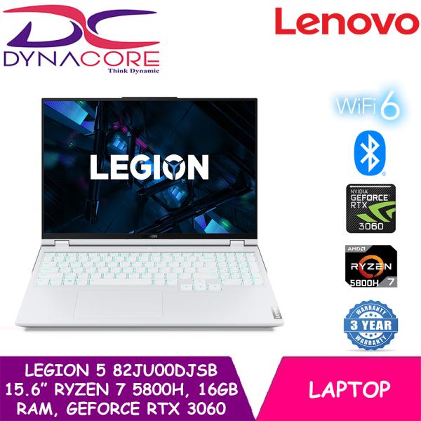 DYNACORE - Lenovo Legion 5 | AMD Ryzen 7 5800H Processor | 16GB RAM | 1TB PCIe SSD | NVIDIA GeForce RTX 3060 | Windows 10 Home | 3 Years Legion Ultimate Support | 82JU00DJSB | Gaming Laptop