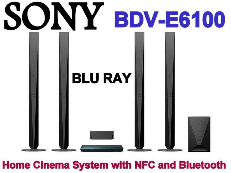 Sony BDV-E6100 Blu ray Home Cinema System with NFC and Bluetooth Singapore