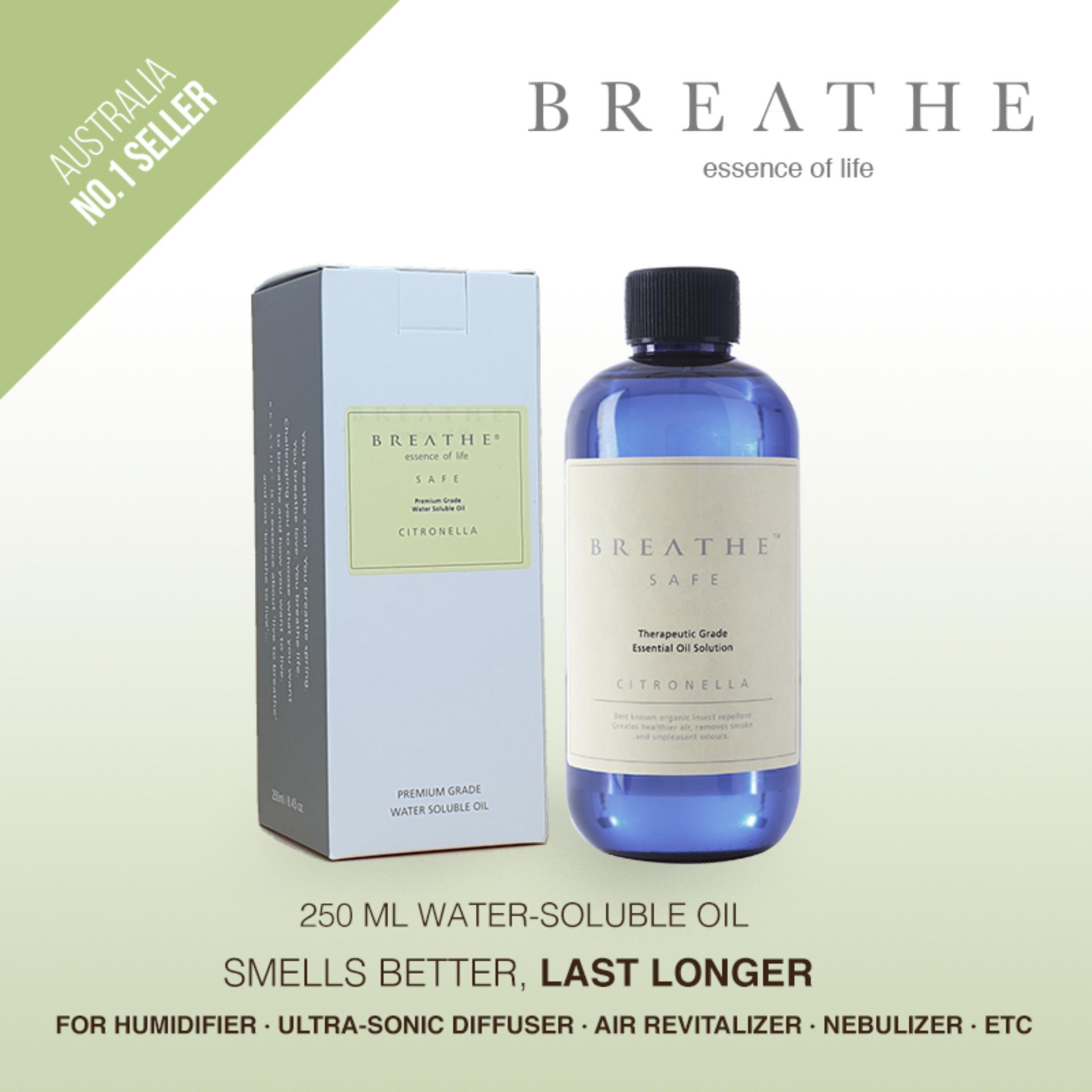 BREATHE Air Revitalizer essence - Citronella