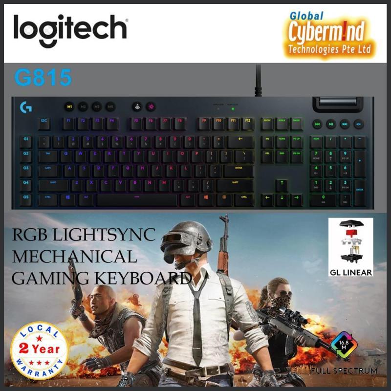 Logitech G815 RGB LIGHTSYNC Mechanical Gaming Keyboard Singapore