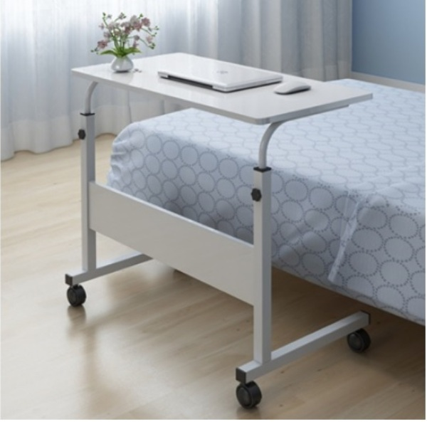 Movable with Height Adjustable Computer Laptop Table