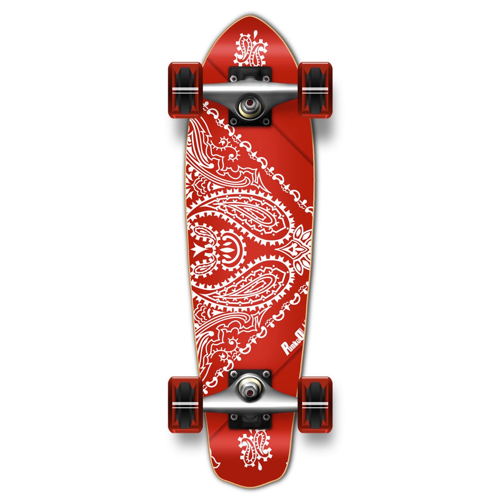 Yocaher Black Skateboard Rails
