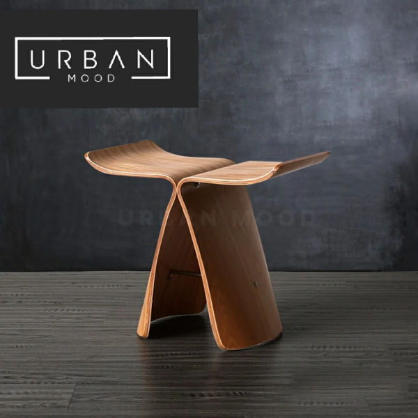 [Pre-Order] WALSH Solid Wood Butterfly Stool