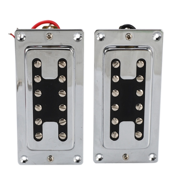 Double Coil Guitar Sealed Humbucker Pickups Pick-Ups for LP Electric Guitars with Mounting Screws (Pack of 2Pcs)