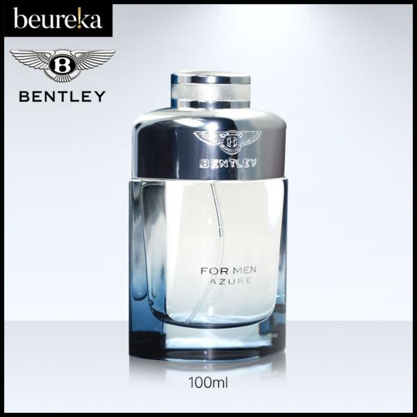Buy Bentley Azure EDT M 100ml - Beureka [Luxury Beauty (Perfume - Men Fragrance) Brand New 100% Authentic] Singapore
