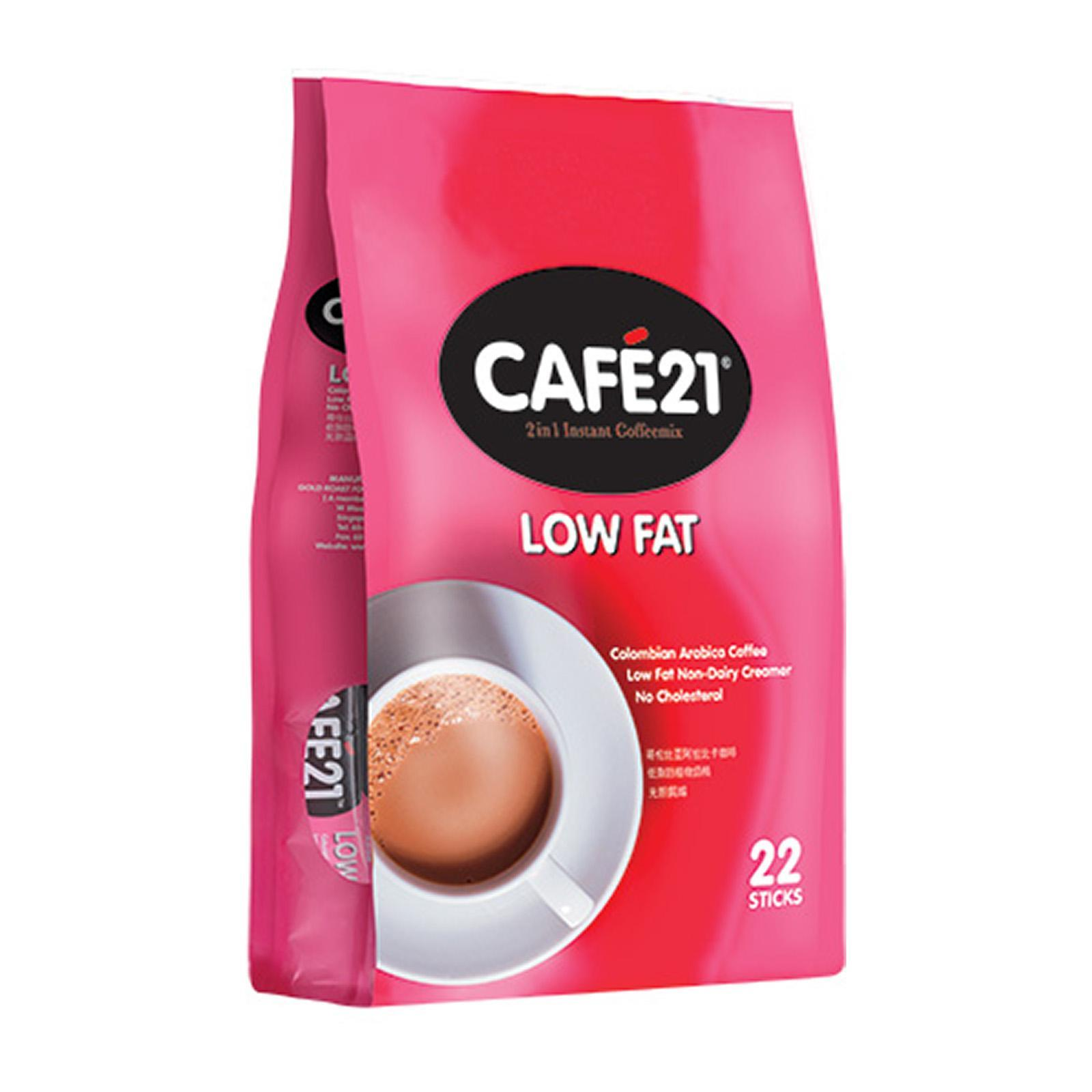 Cafe21 Low Fat 2 In1 Instant Coffeemix