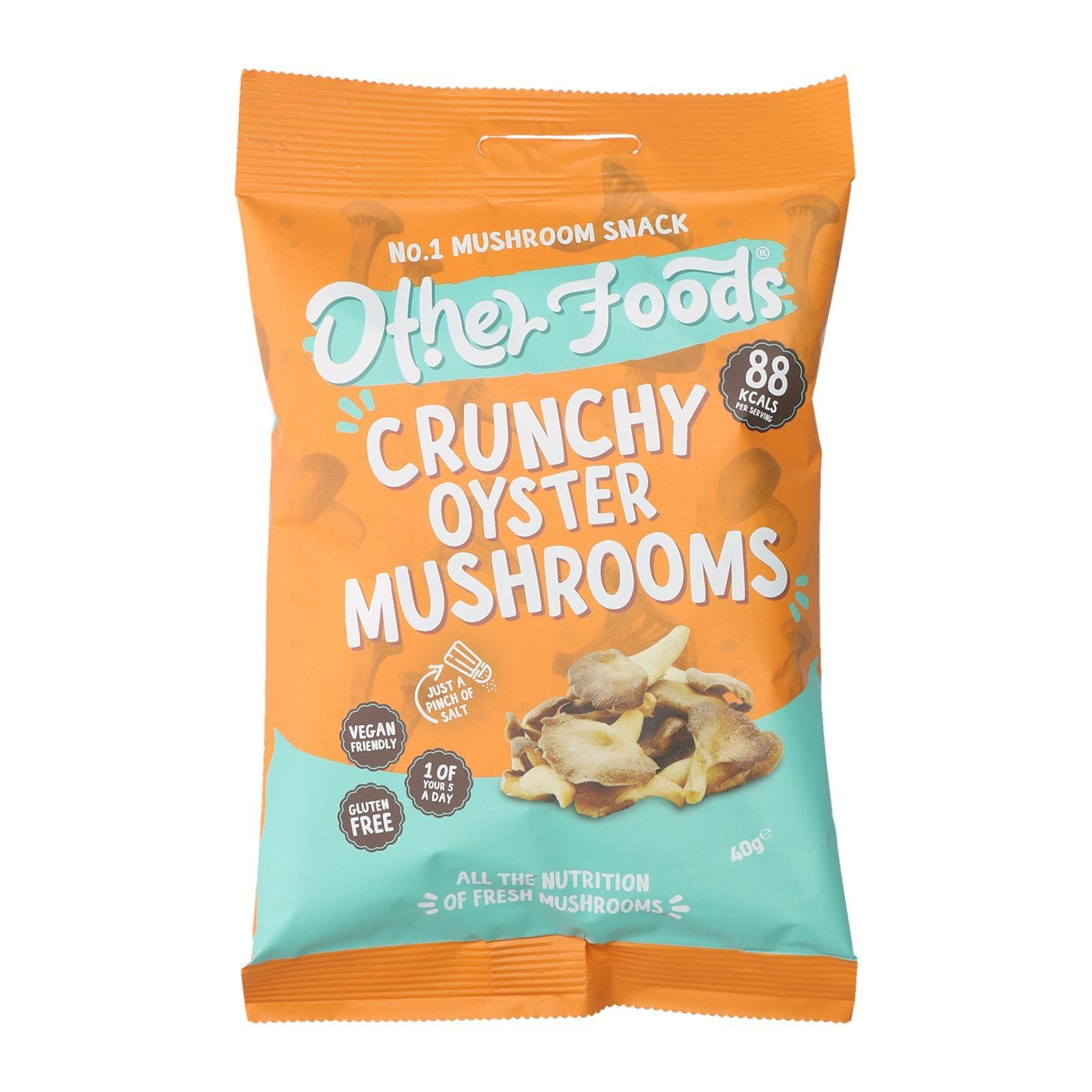Other Foods Crunchy Oyster Mushroom Chips - By Wholesome Harvest