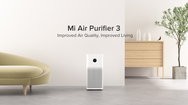 Xiaomi Smartmi Air Purifier 3 Mijia Mi Home APP Control Charcoal Active Fibre True HEPA Filter PM2.5 Cooler Fan Singapore