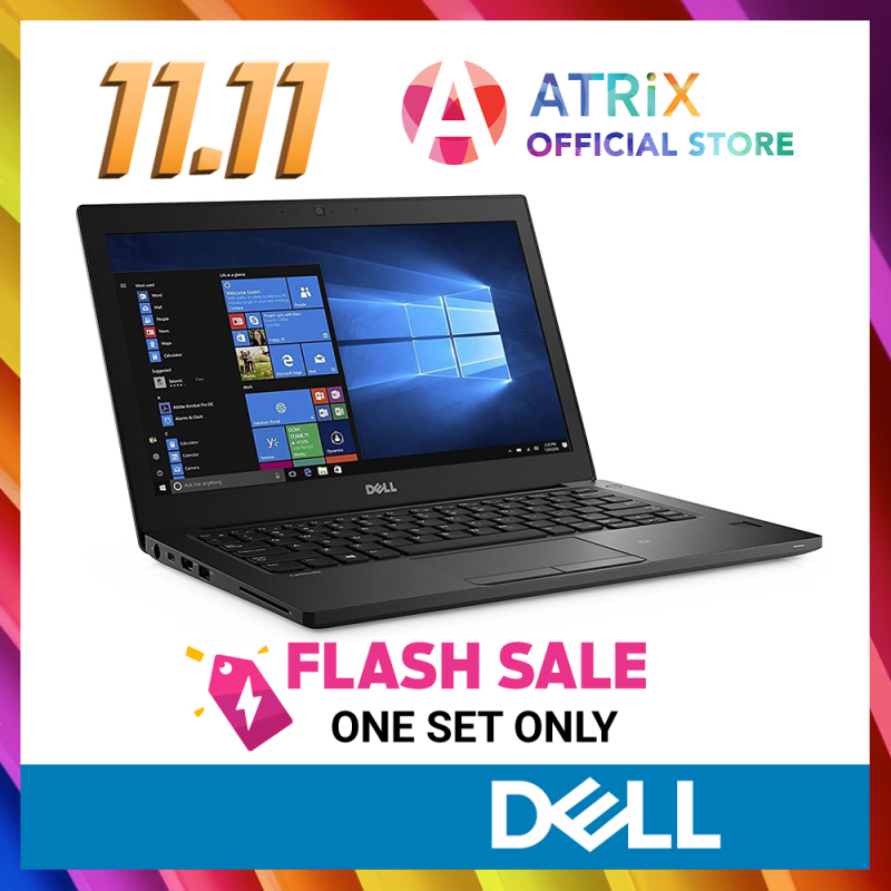 11.11 Flash Price《$799》Dell Latitude 7280 | 12.5inch FHD | i7-7500U | 8GB RAM | 512GB SSD | Win10 Pro | 1Yr Dell onsite warranty