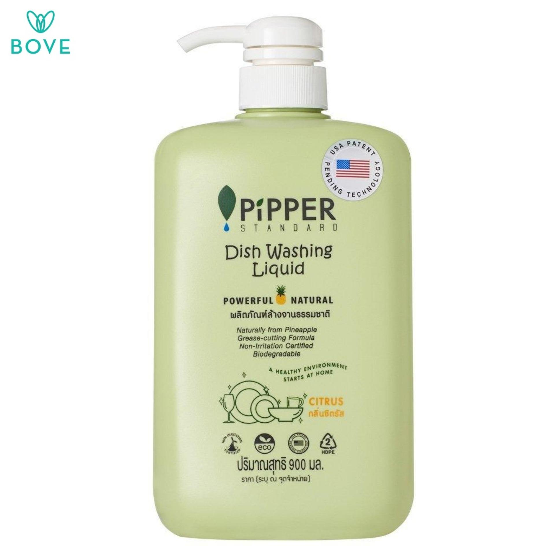 Pipper Standard Dish Washing Liquid Citrus By Bove.