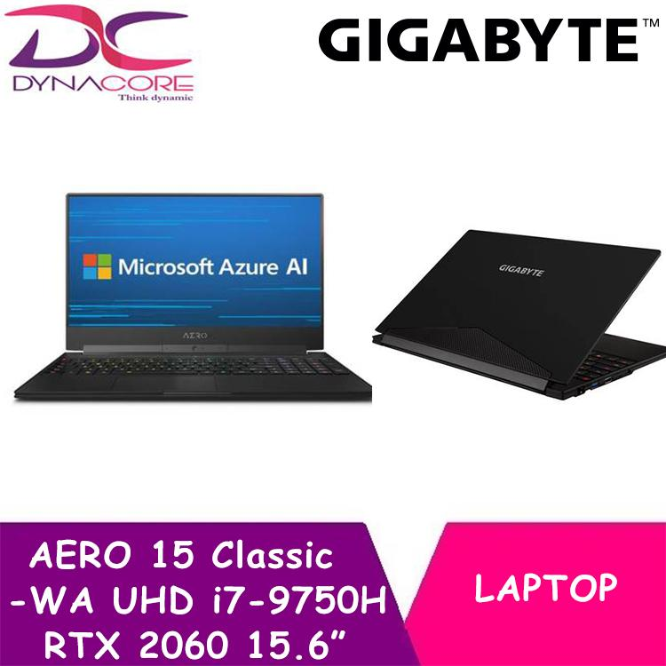 GIGABYTE AERO 15 Classic-WA UHD (i7-9750H/16GB /RTX 2060/512GB SSD/15.6 In UHD 4K IPS/WIN 10)