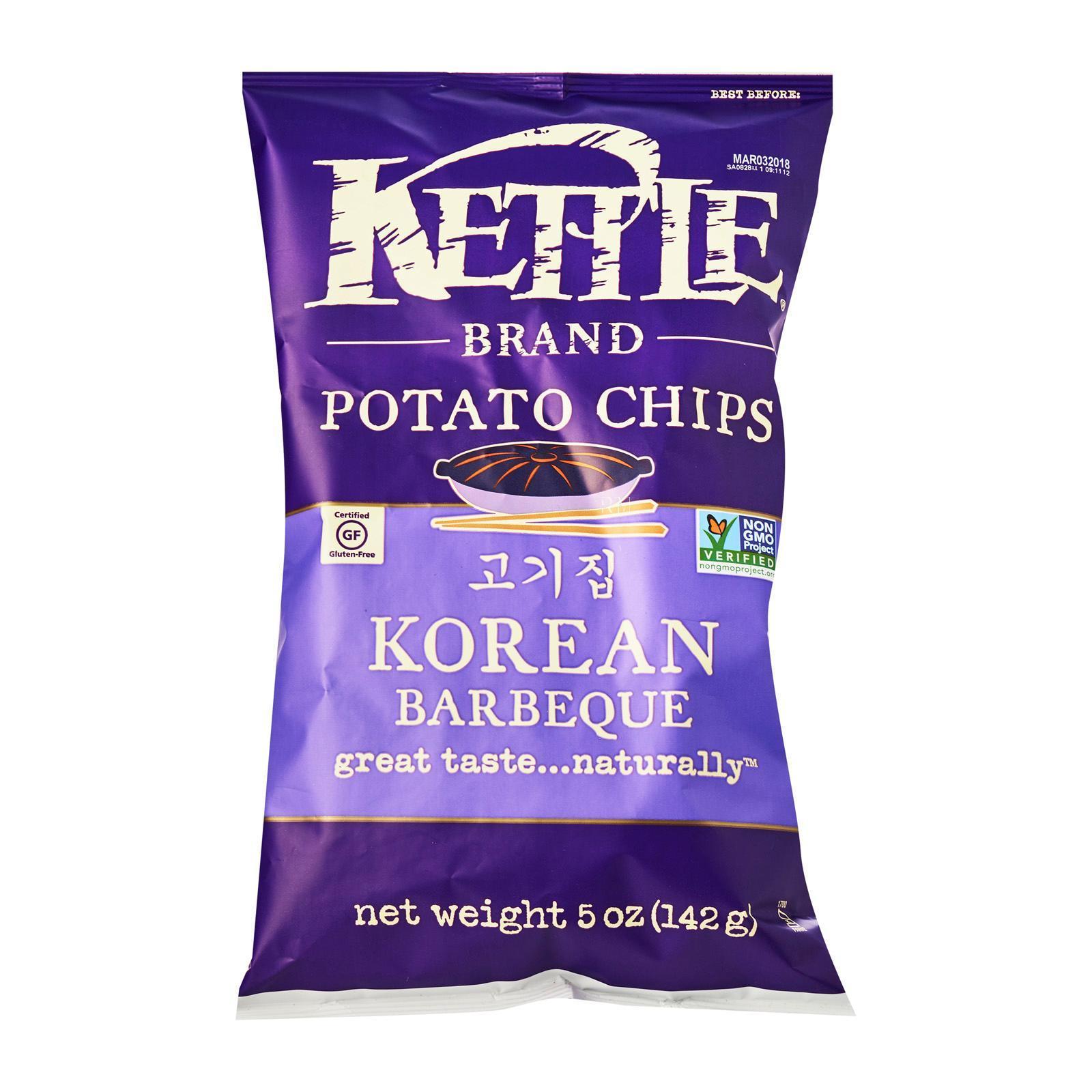 Kettle Brand Potato Chips - Backyard Barbeque