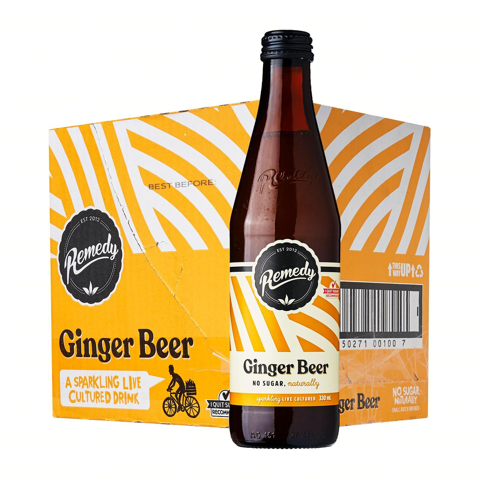 Remedy Organic Kombucha Ginger Beer