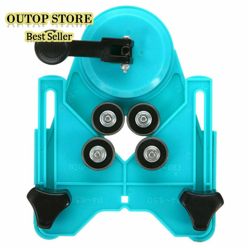 OUTOP Adjustable Ceramic Tile Glass Hole Sawing Machine Guide Opening Positioner 4mm-83mm