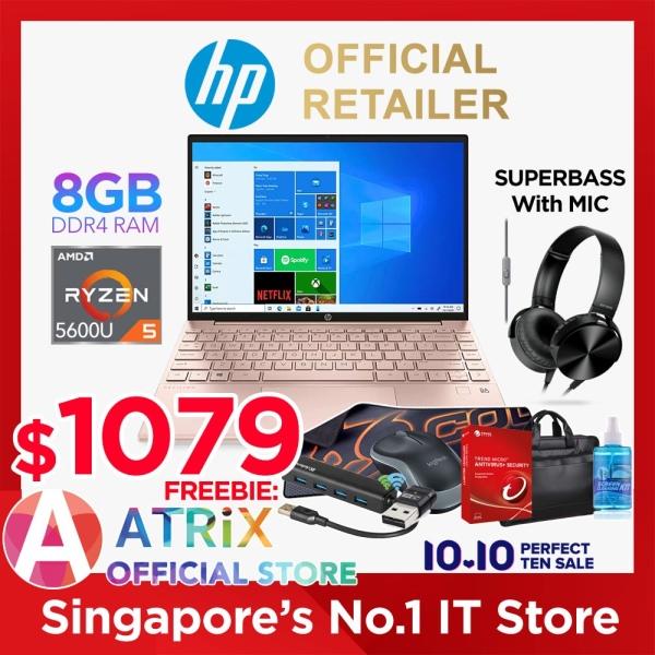 【Free MS Office】Express Delivery | HP Pavilion Aero 13-be0051AU | 13.3inch 16:10 1920x1200 Slim IPS 400nits | AMD Ryzen 5 5600U | 8GB DDR4 | 256GB SSD | Wifi 6 | 1Y HP Onsite Warranty