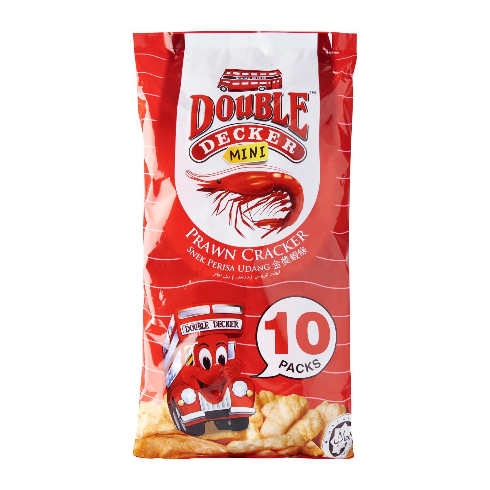 Double Decker Snack Prawn Cracker - Family Pack