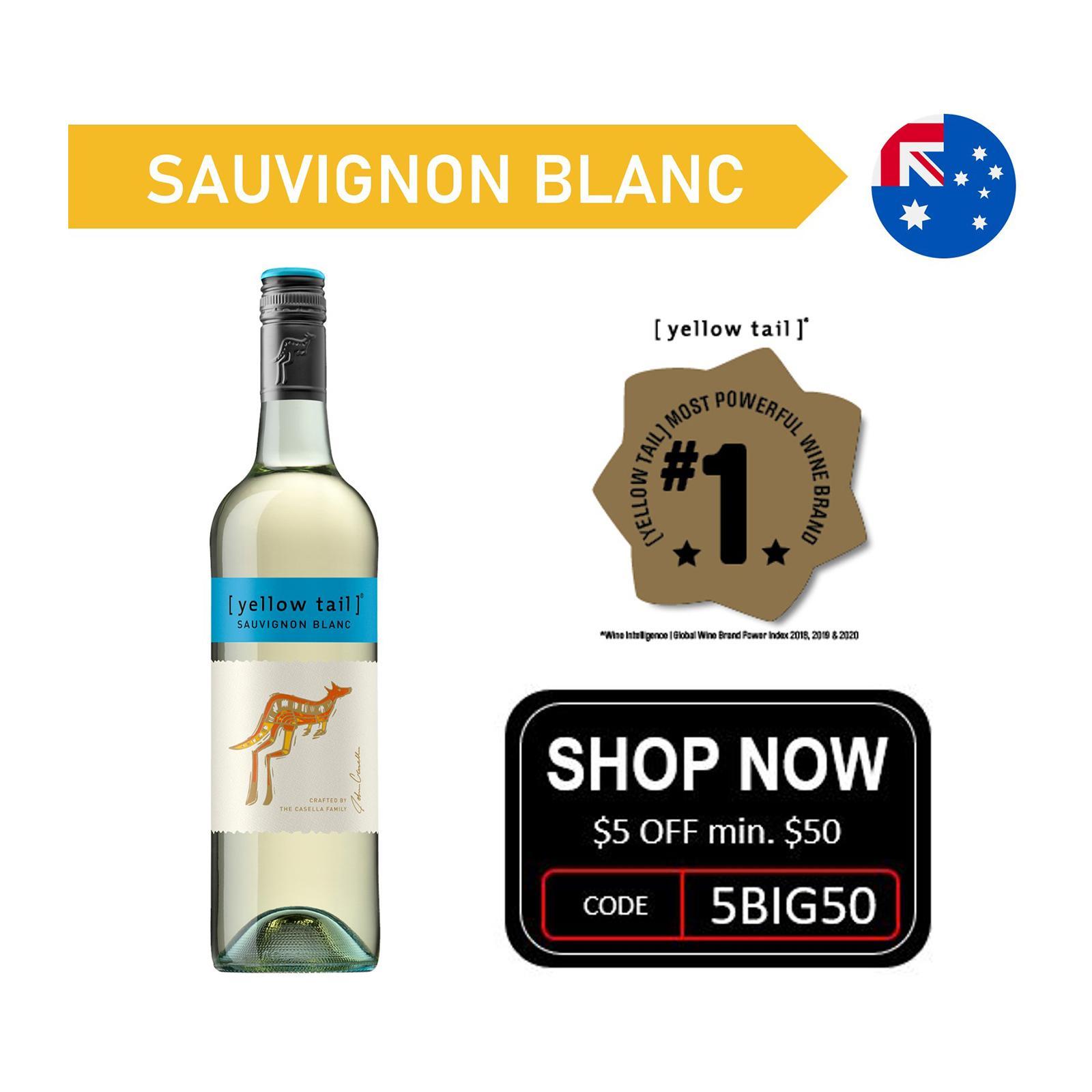 Yellow Tail Sauvignon Blanc White Wine