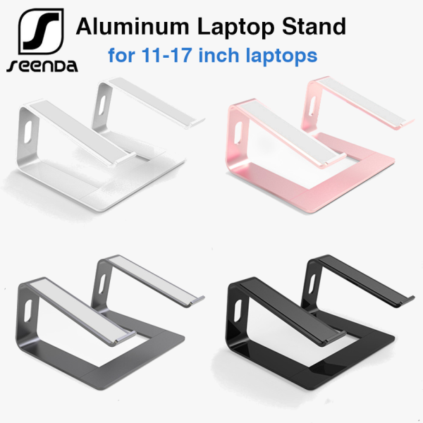 SeenDa Aluminium Laptop Stand for laptops 10-17 inches - macbook pro stand, dell, hp, acer, asus, lenovo