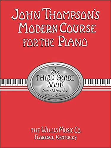 John Thompsons Modern Course For The Piano - Third Grade - Piano Book - Music Book