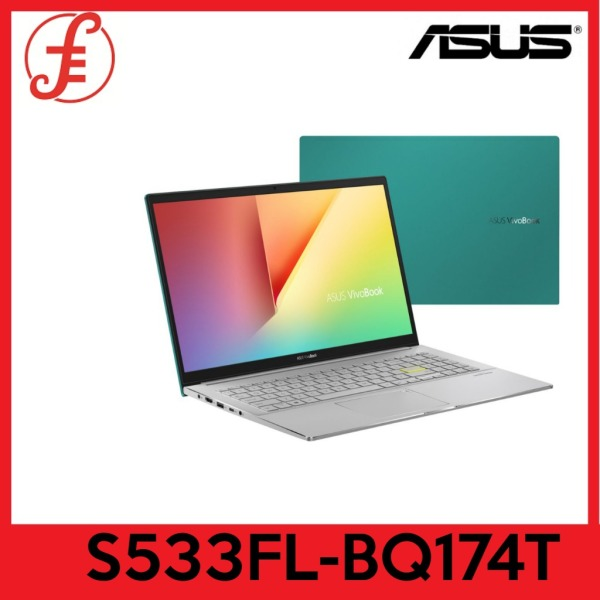 "ASUS VivoBook S15 S533FL Wifi 6 | 16.1mm Slim design | 15.6"" FHD | i7-10510U | 8GB RAM | 1TB PCIe SSD | MX250 Graphics | Win10 Home 2Yrs ASUS Warranty (S533FL-BQ174T)"