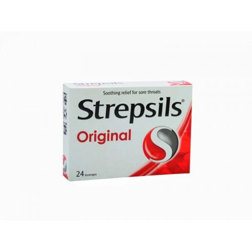 Strepsils Original Lozenges 24/box By The Dental Pharm.