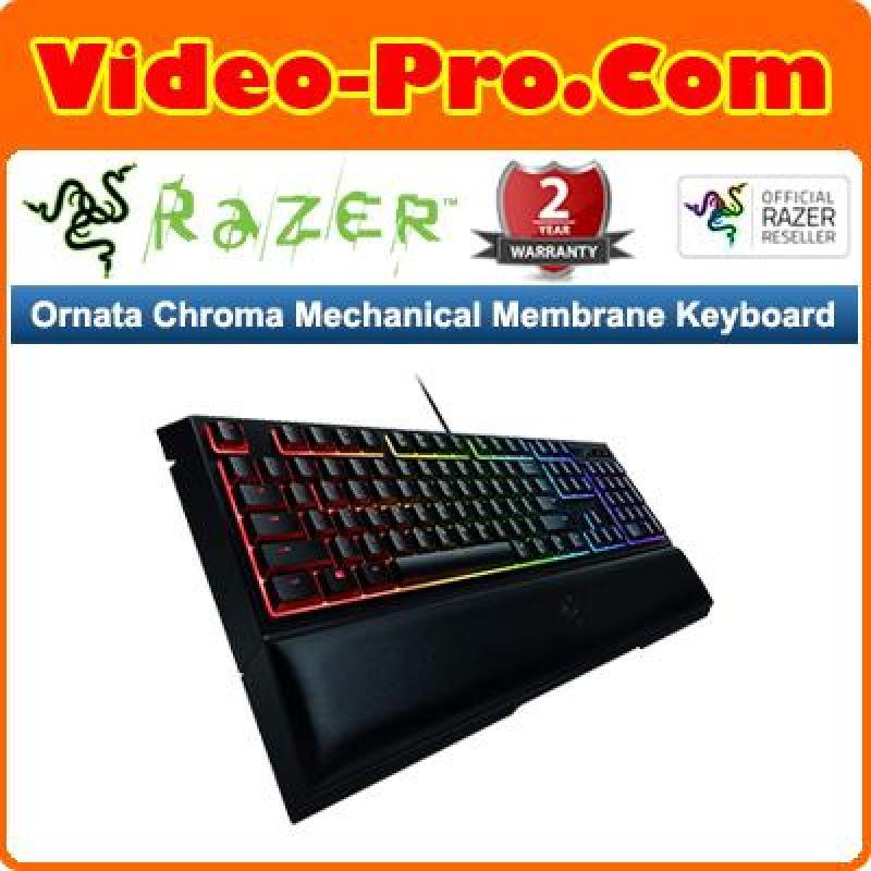 Razer Ornata Chroma Mechanical Membrane Keyboard RZ03-02040100-R3M1 Singapore