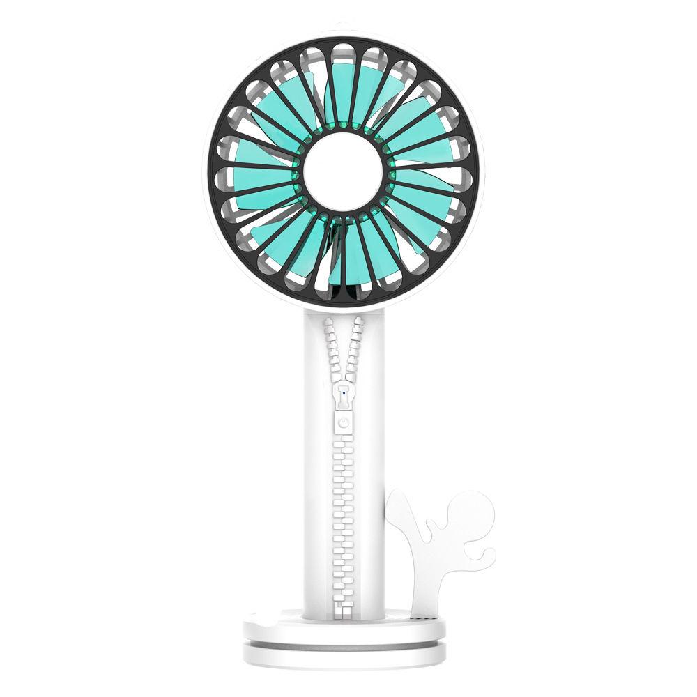 Sharp Front 2020usb Zipper Multi-Function Fan Desktop Handheld Fan Home Small Electrical Gifts.