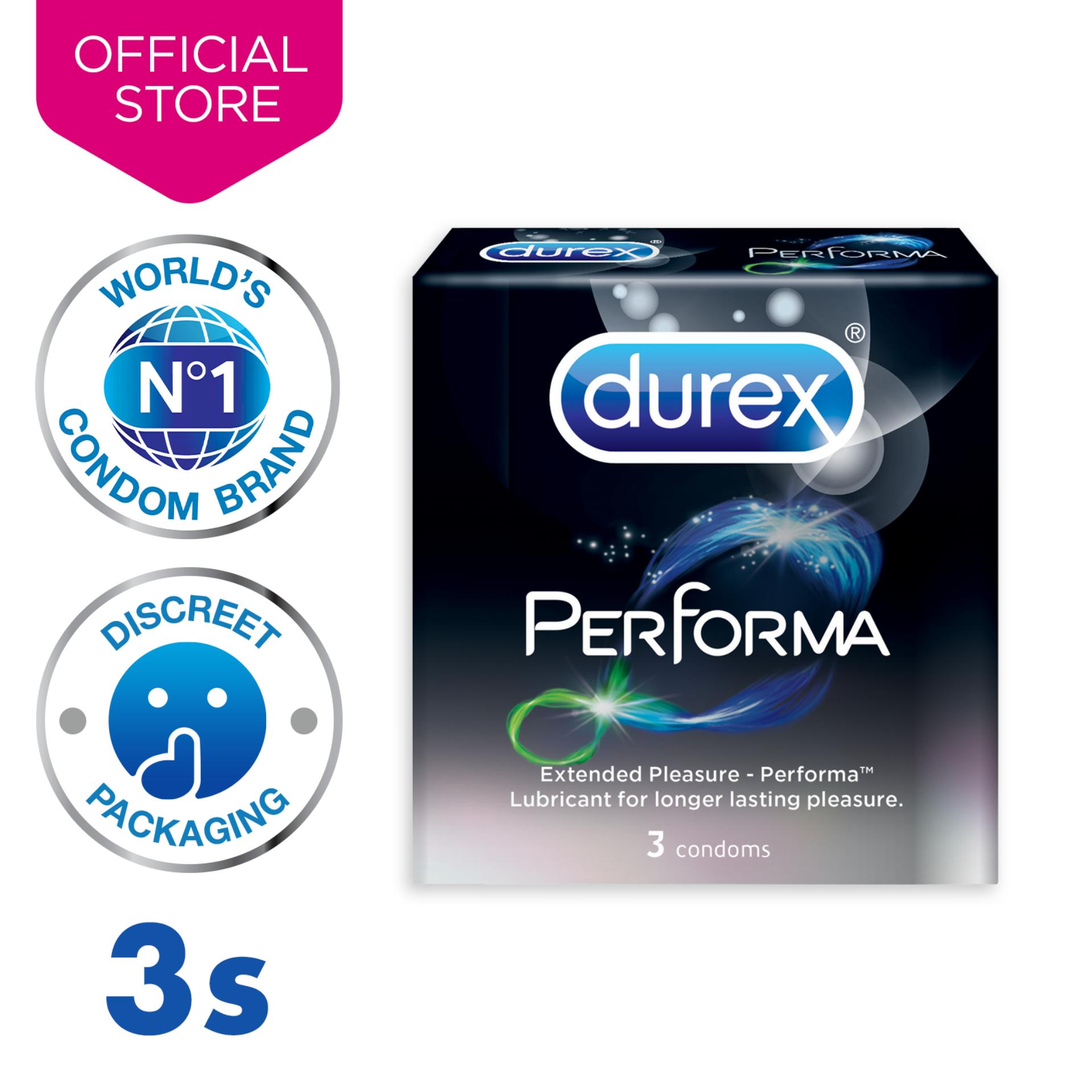 Durex Performa Condoms (last Longer) X3 By Durex