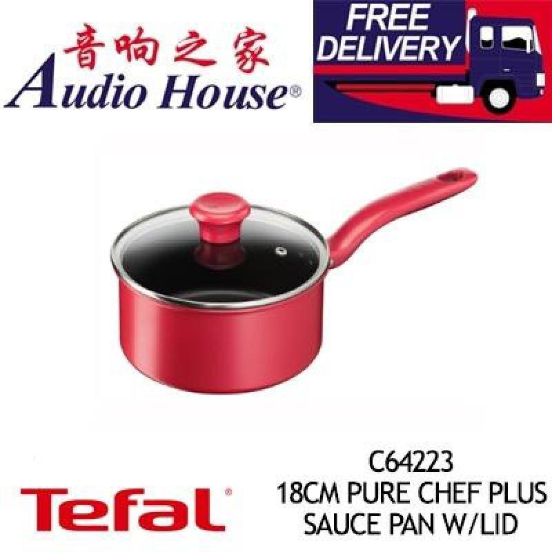 TEFAL C64223 18CM PURE CHEF PLUS SAUCE PAN W/LID Singapore