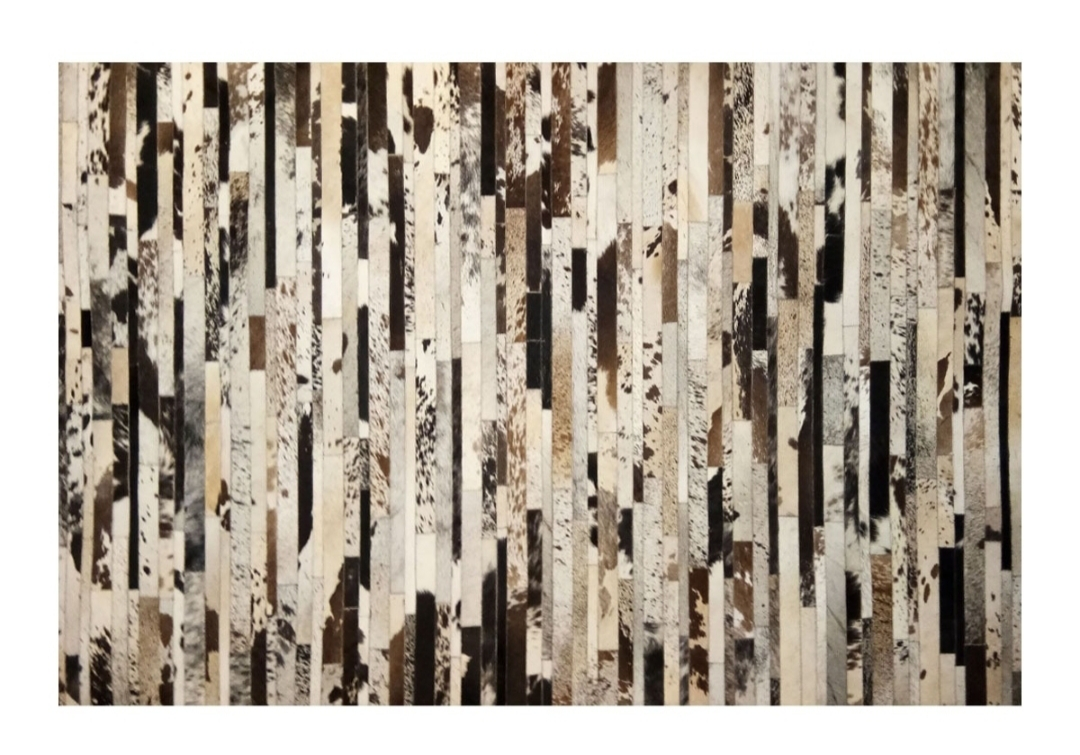 CP 123 Cowhide Leather Rug